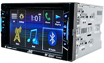 Win a JVC Double Din Radio
